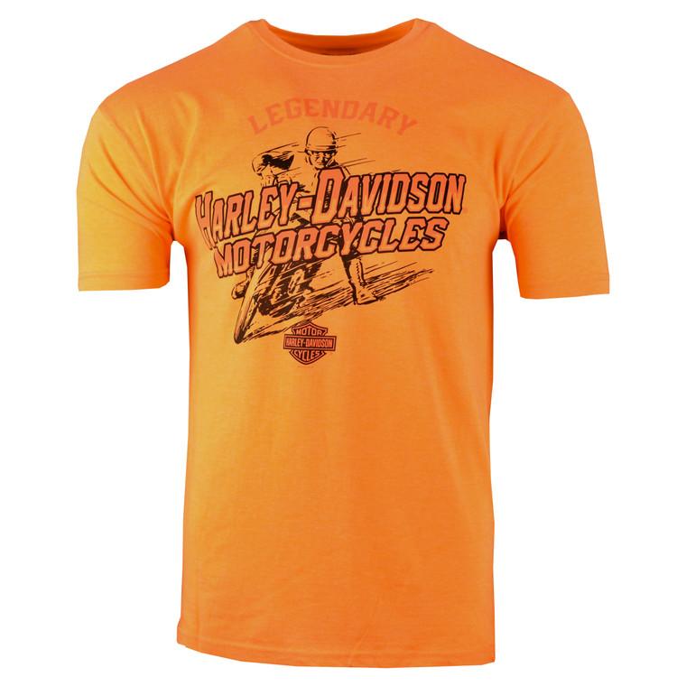 Sturgis Harley-Davidson® Men's Orange Wrecking Crew Short Sleeve T-Shirt