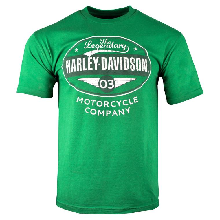 Sturgis Harley-Davidson® Men's Green Legendary Short Sleeve T-Shirt