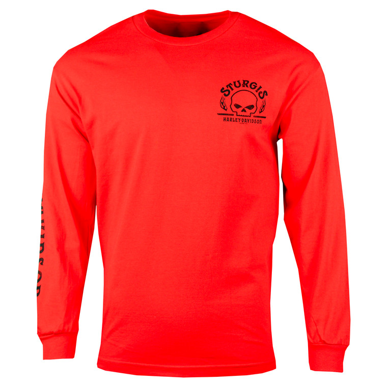 Sturgis Harley-Davidson® Men's Arched Long Sleeve T-Shirt