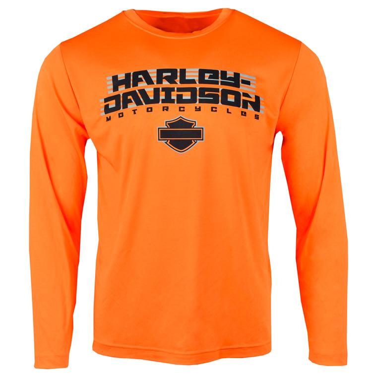 Sturgis Harley-Davidson® Men's Cruise Long Sleeve Performance T-Shirt
