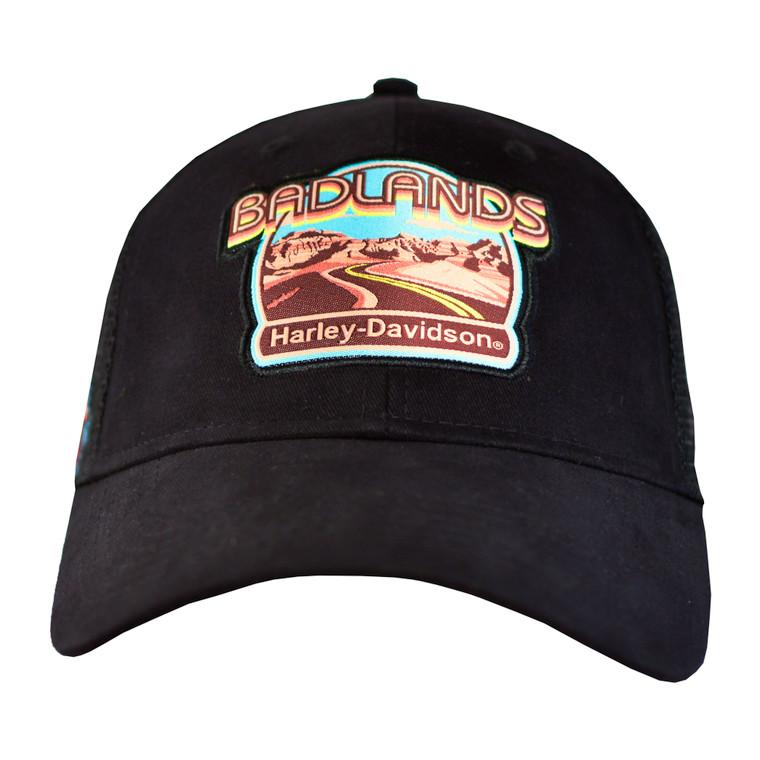 Badlands Harley-Davidson® Men's Retro Scene Ballcap Hat