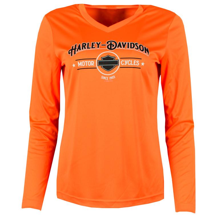 Sturgis Harley-Davidson® Women's Echo Long Sleeve T-Shirt