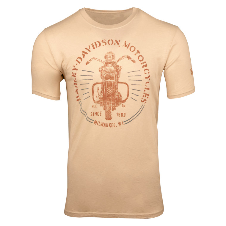Sturgis Harley-Davidson® Men's Welded Wisconsin Short Sleeve T-Shirt