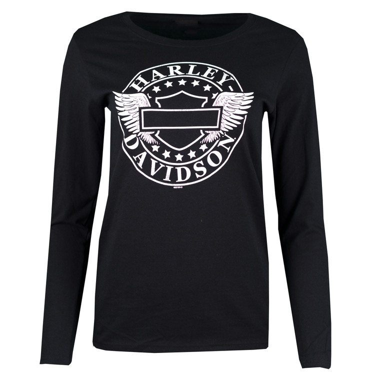 Sturgis Harley-Davidson® Women's Star Winged Long Sleeve T-Shirt