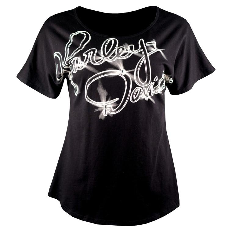 Sturgis Harley-Davidson® Women's Dolman Free Flow Short Sleeve T-Shirt