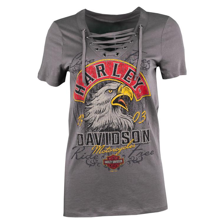Sturgis Harley-Davidson® Women's Shear Eagle Short Sleeve T-Shirt