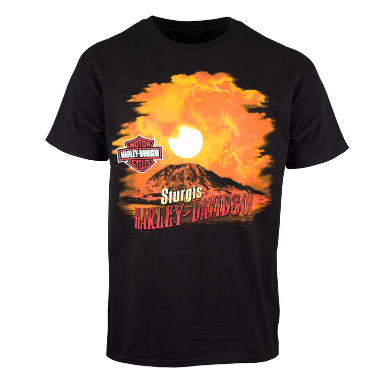 Sturgis Harley-Davidson® Men's Buffalo Sky Short Sleeve T-Shirt
