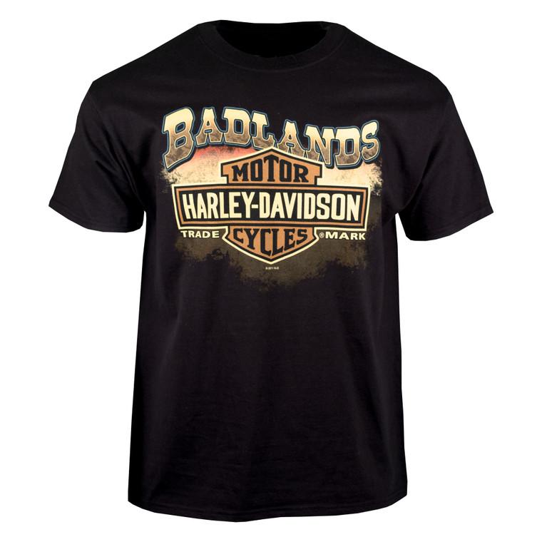 Badlands Harley-Davidson® Men's Badlands Beauty Short Sleeve T-Shirt