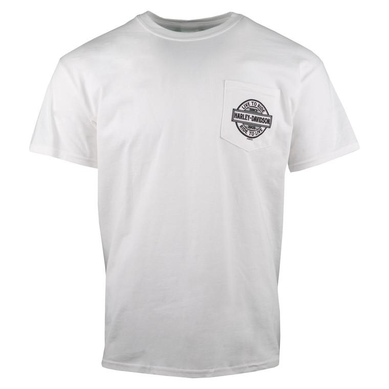 Sturgis Harley-Davidson® Men's Compass Short Sleeve Pocket T-Shirt