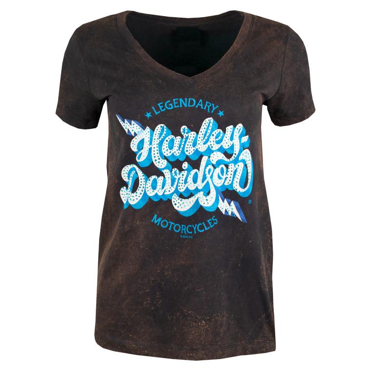 Sturgis Harley-Davidson® Women's Retro Bolt Short Sleeve T-Shirt