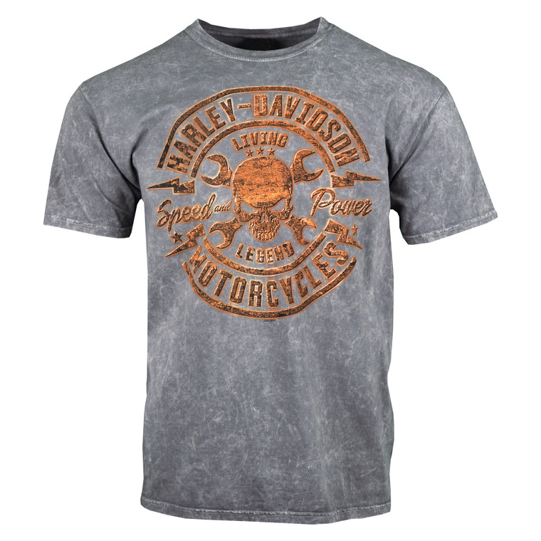 Sturgis Harley-Davidson® Men's Rusty Speed Short Sleeve T-Shirt