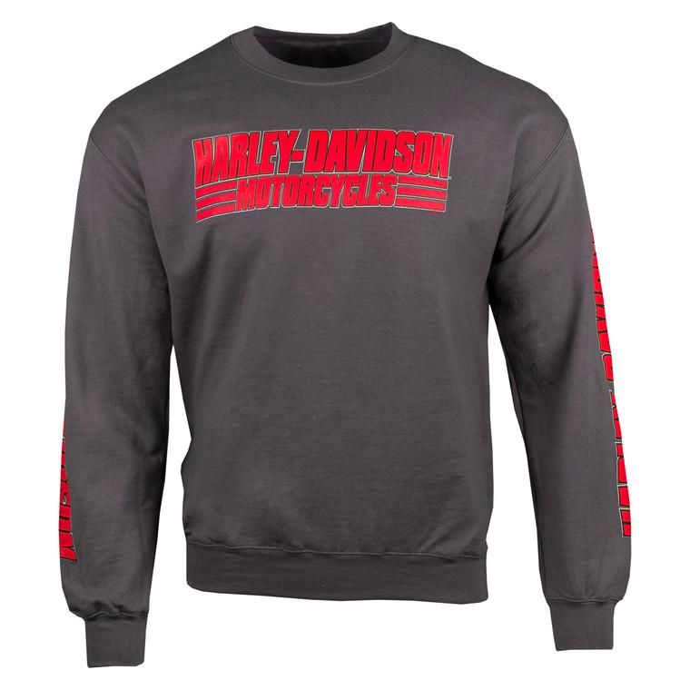Sturgis Harley-Davidson® Men's Carry On Fleece Crewneck Sweatshirt