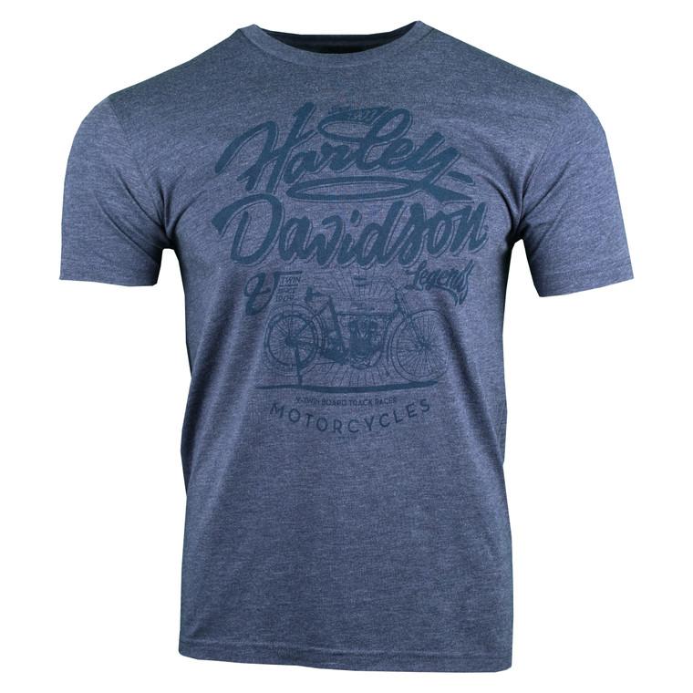 Sturgis Harley-Davidson® Men's Vintage Navy Model Short Sleeve T-Shirt