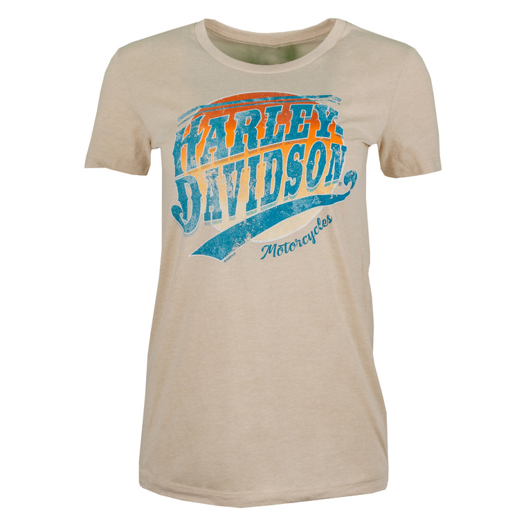 Sturgis Harley-Davidson® Women's Retro Sunset Short Sleeve T-Shirt