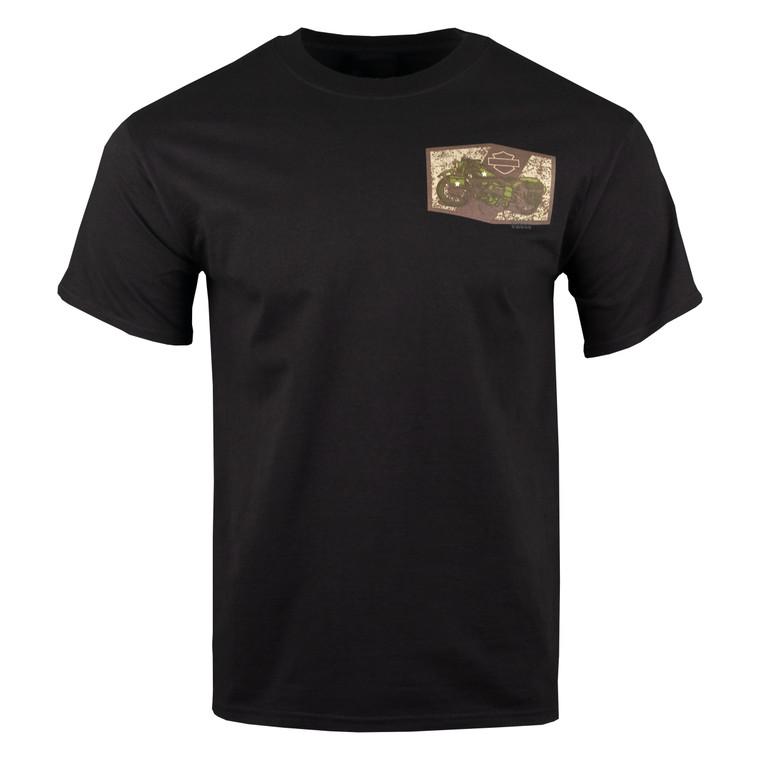 Sturgis Harley-Davidson®  Men's Freedom Patch Short Sleeve T-Shirt