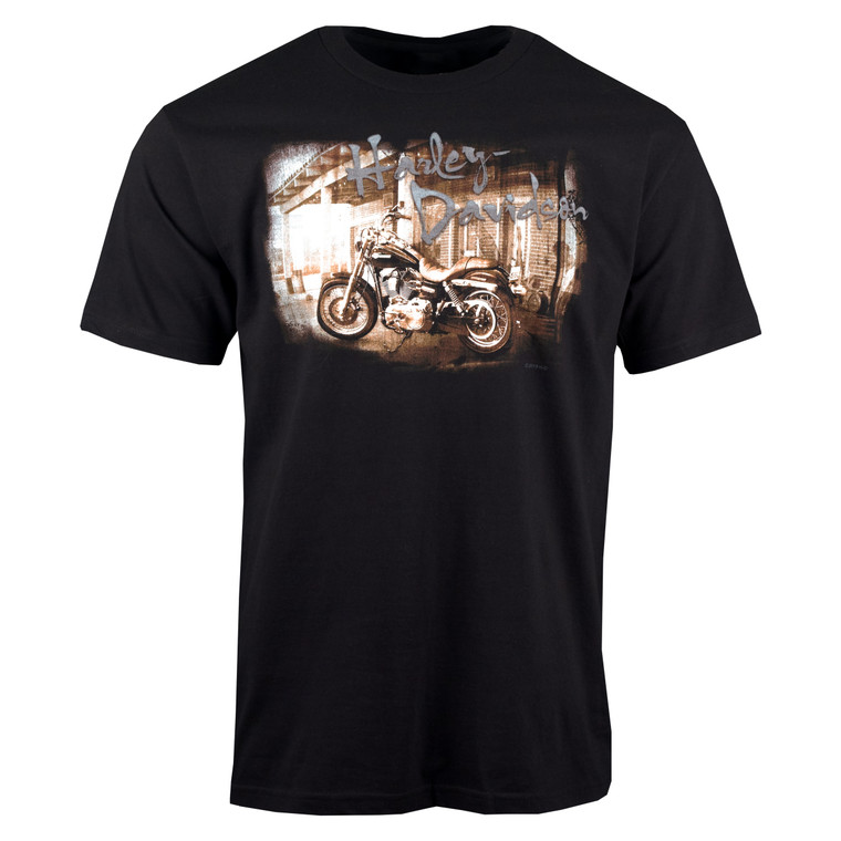 Sturgis Harley-Davidson®  Men's Past Present Short Sleeve T-Shirt