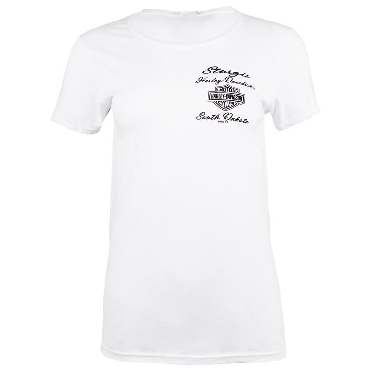 2021 Sturgis Harley-Davidson® Women's 81st Rally Buffalo Dreams Short Sleeve T-Shirt