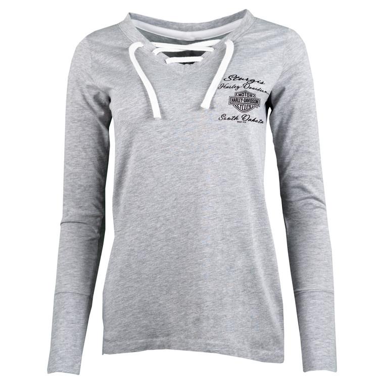 2021 Sturgis Harley-Davidson® Women's 81st Rally Buffalo Dreams Long Sleeve T-Shirt