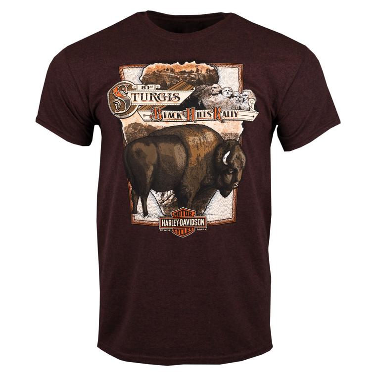 2021 Sturgis Harley-Davidson® Men's  81st Rally Posterized Short Sleeve T-Shirt
