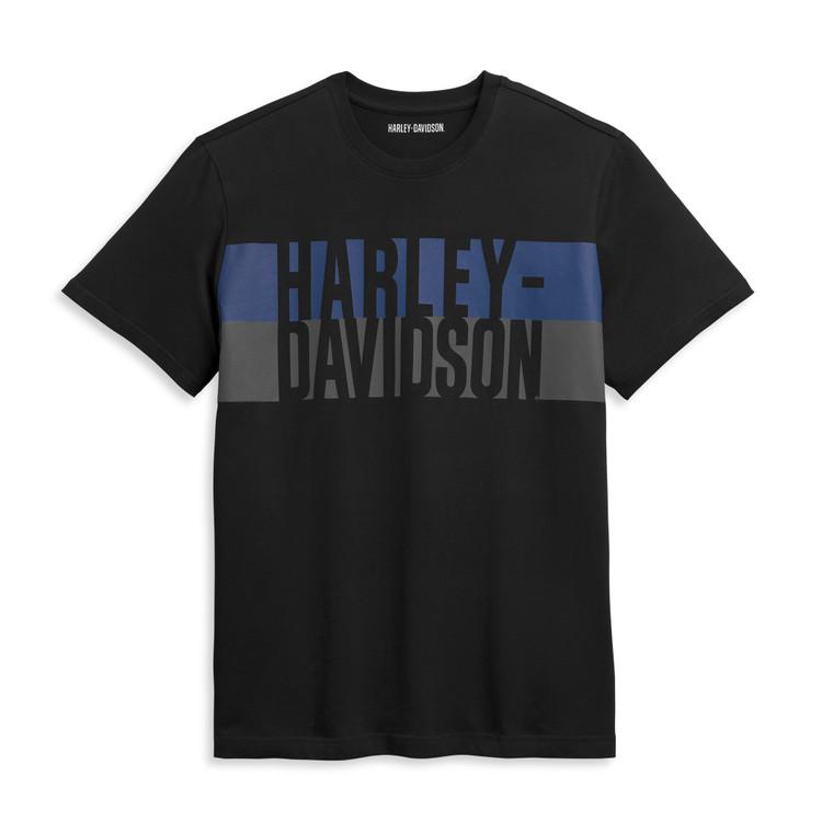 Harley-Davidson® Men's Block Letter Logo T-Shirt 96369-21VM