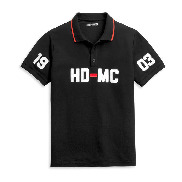 Harley-Davidson® Men's HD-MC 1903 Polo Knit Shirt 96356-21VM