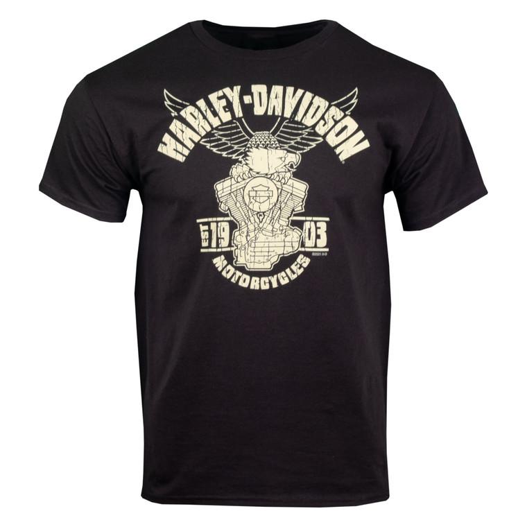 Sturgis Harley-Davidson® Men's Eagle Decal Short Sleeve T-Shirt