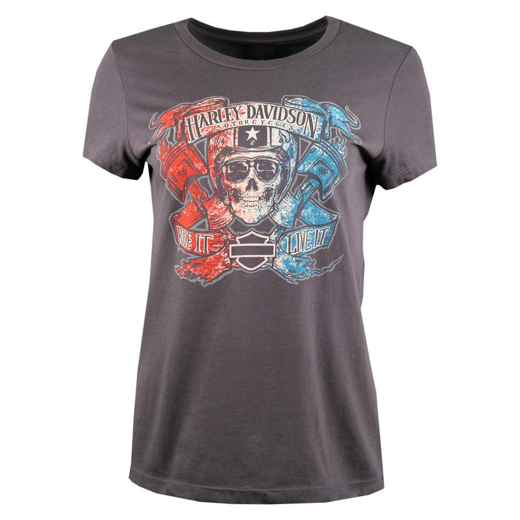 Sturgis Harley-Davidson® Women's Zealous Short Sleeve T-Shirt