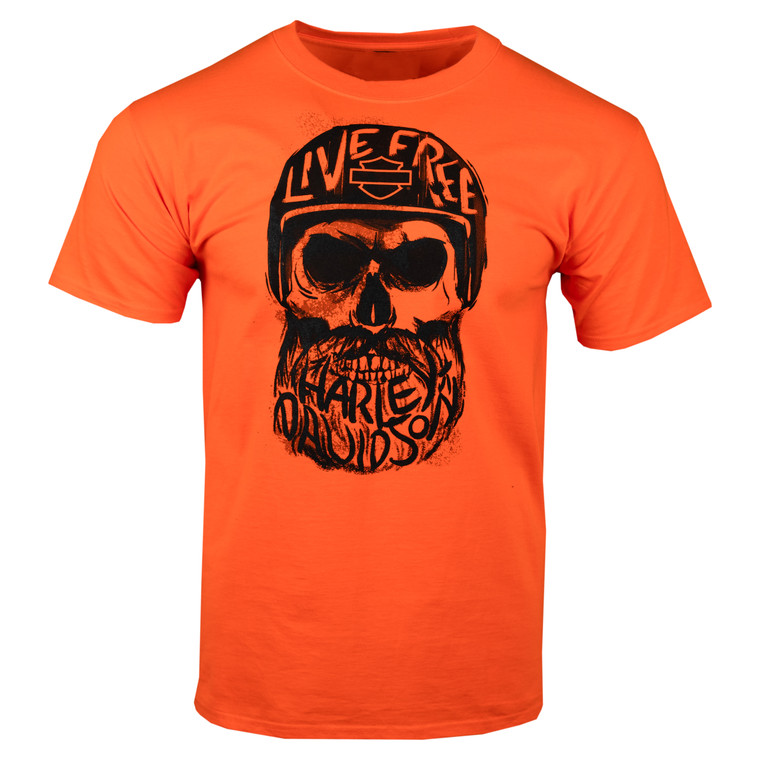 Sturgis Harley-Davidson® Men's Inscribed Skull Short Sleeve T-Shirt