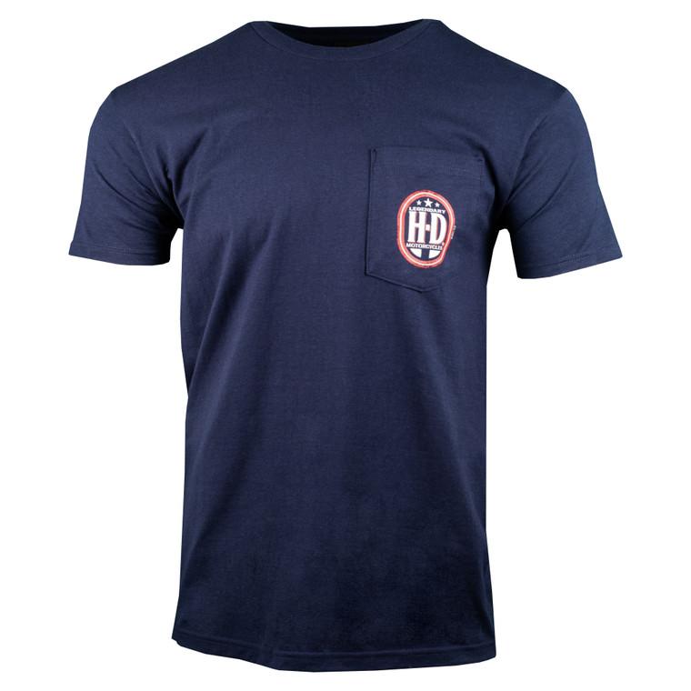 Sturgis Harley-Davidson® Men's Rise Up Short Sleeve Pocket T-Shirt