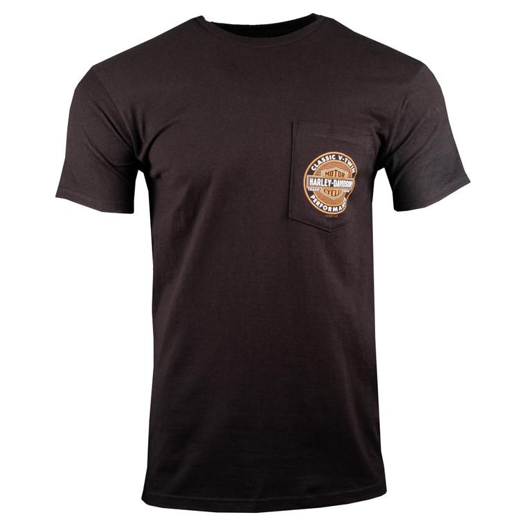 Sturgis Harley-Davidson® Men's V-Twin Valley Short Sleeve Pocket T-Shirt