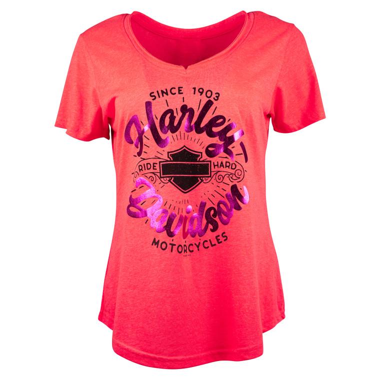 Sturgis Harley-Davidson® Women's Sunburst Short Sleeve T-Shirt
