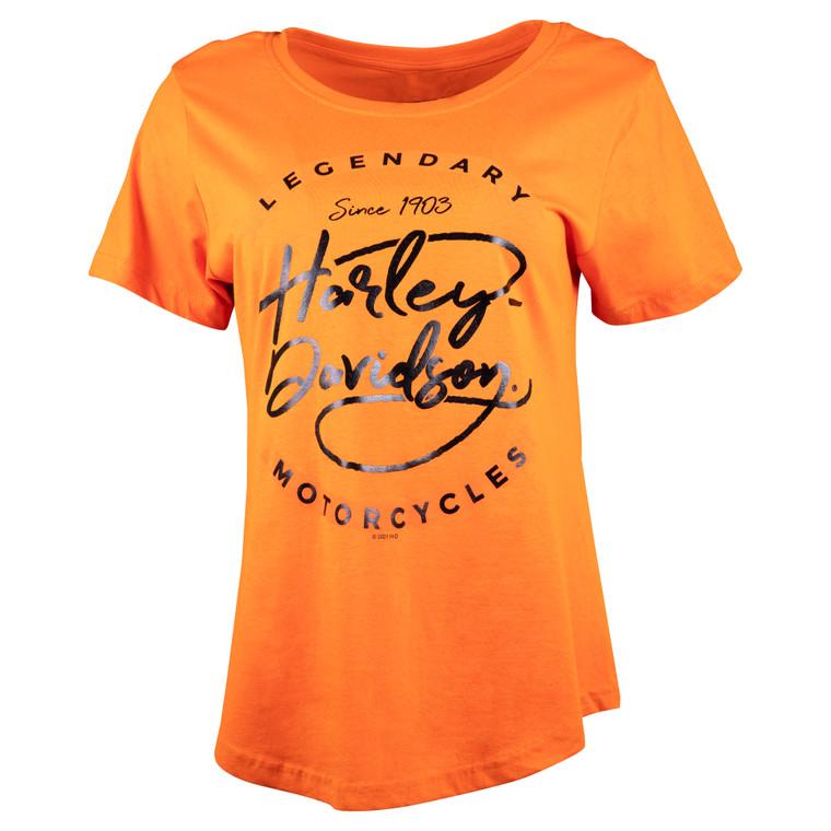 Sturgis Harley-Davidson® Women's Pop Circle Short Sleeve T-Shirt