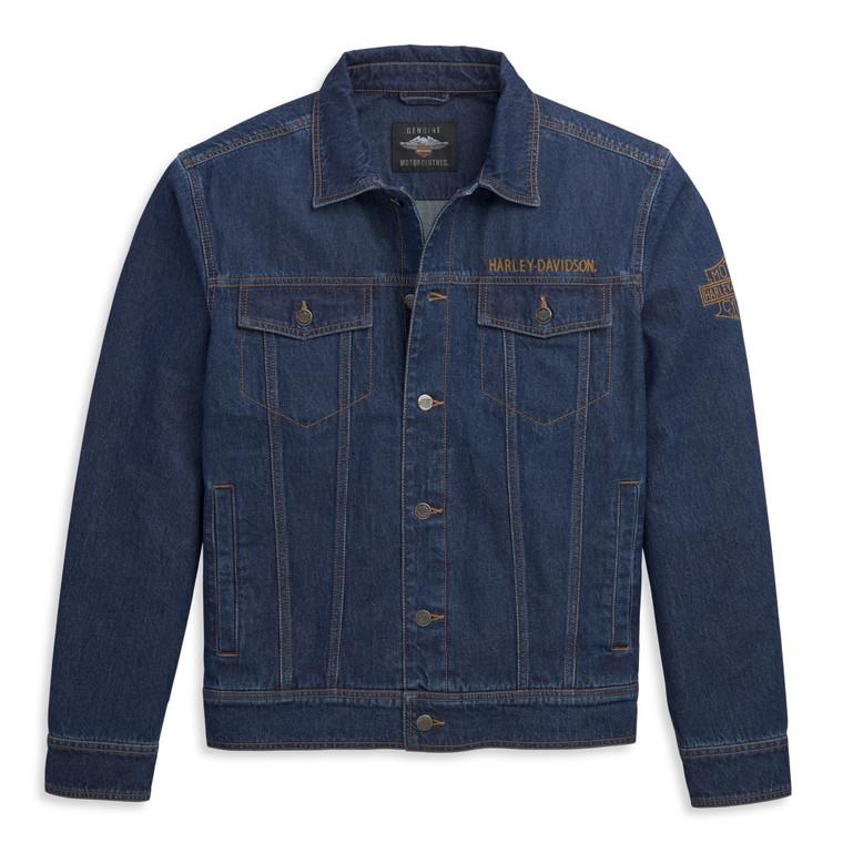 Harley-Davidson® Men's Blue Denim Jacket 97452-21VM