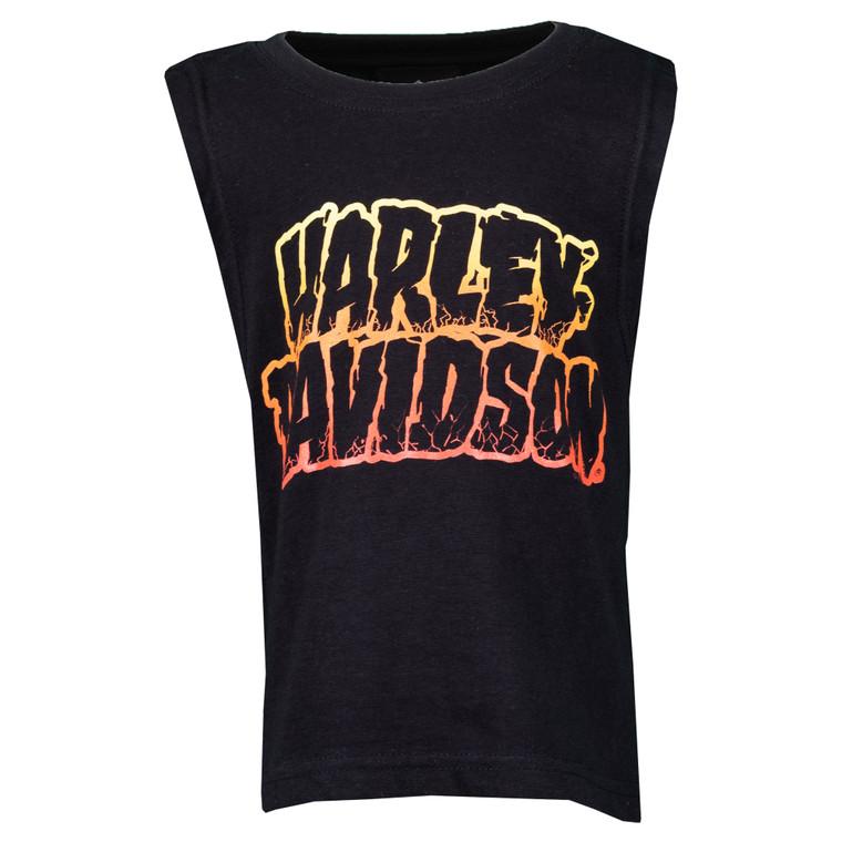 Sturgis Harley-Davidson® Youth Cracked Sleeveless T-Shirt