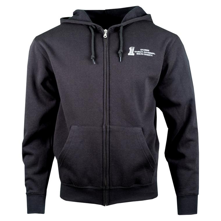 Sturgis Harley-Davidson® Men's Warrant Zip Up Hoodie Sweatshirt
