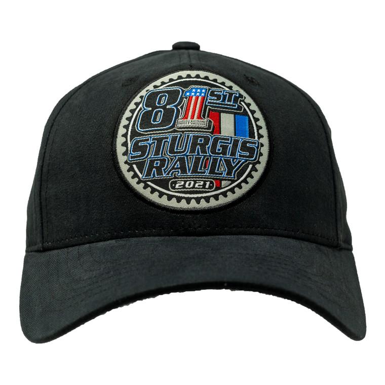 2021 Harley-Davidson® 81st Rally Patch Ballcap Hat