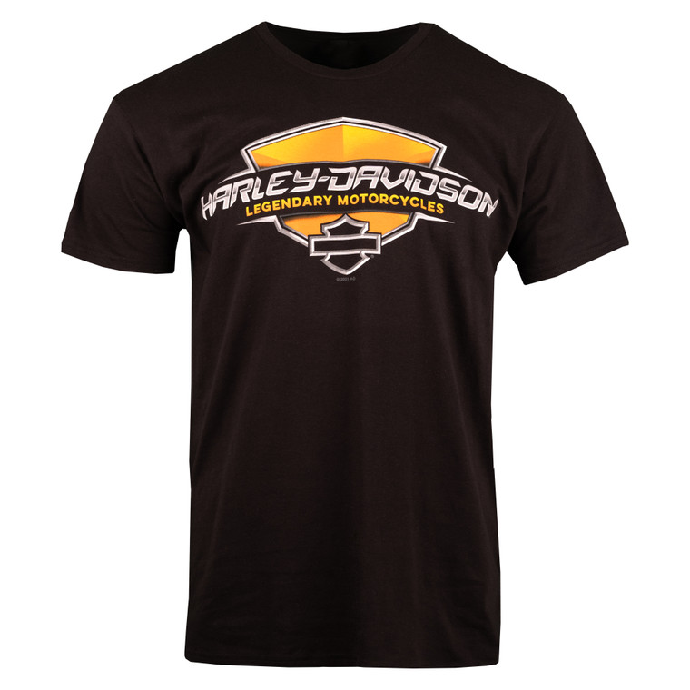 Sturgis Harley-Davidson® Men's Gloss Shield Short Sleeve T-Shirt