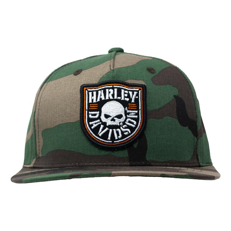 Sturgis Harley-Davidson® Shield Skull Snapback Hat