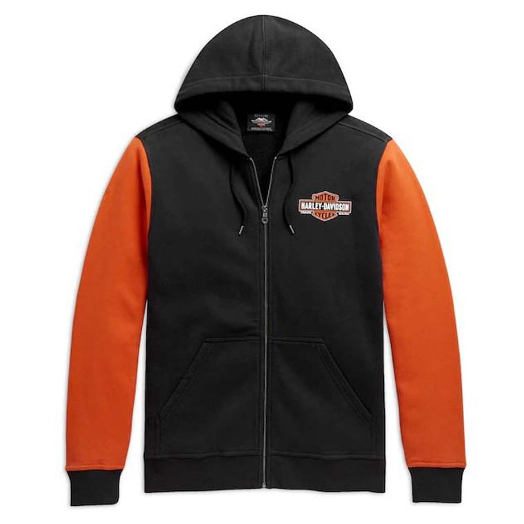 Harley-Davidson® Men's Colorblock Logo Hoodie 98626-20VM