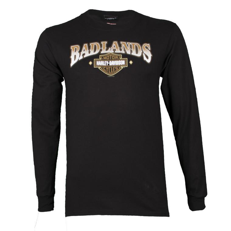 Badlands Harley-Davidson® Men's Thenadays Black Long Sleeve Shirt