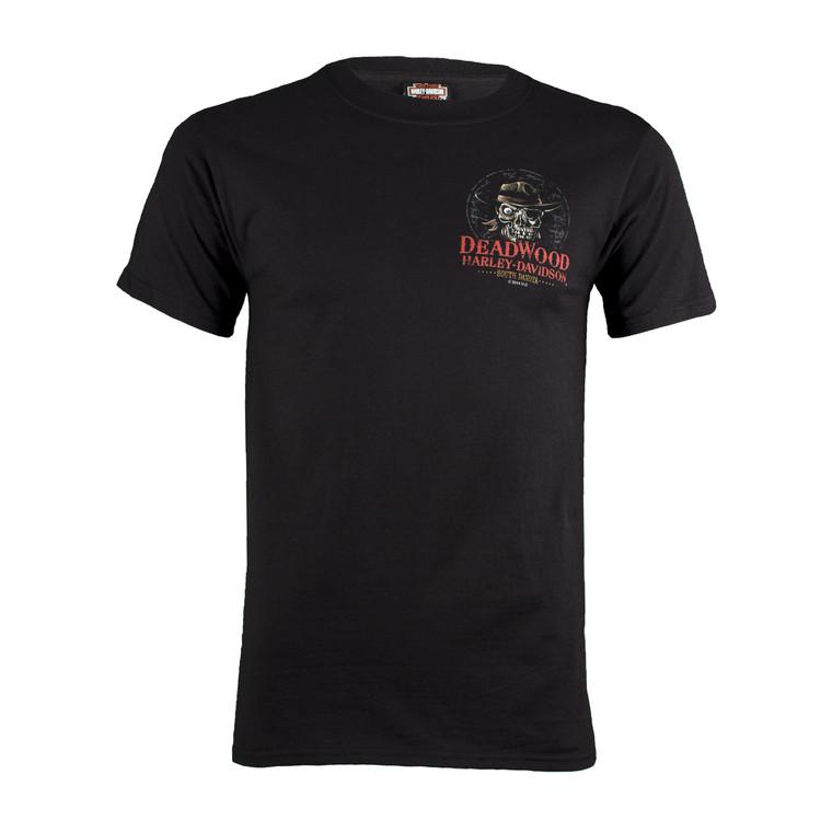 Deadwood Harley-Davidson® Men's Dead Eye Jack Short Sleeve T-Shirt