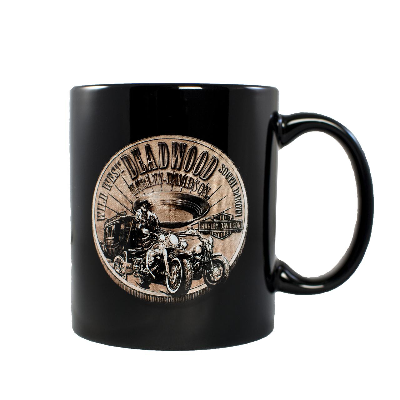 Harley-Davidson Deadwood Vintage Saloon Can Coozie