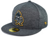 Shadow Stitcher 5950  - HeadwearFittedMens - Salt Lake Bees - - Gray - New Era