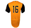 Abejas Authentic Jersey - NoveltyCollectiblesMemorabilia - Salt Lake Bees - 16 - Gold -