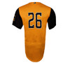 Abejas Authentic Jersey - NoveltyCollectiblesMemorabilia - Salt Lake Bees - 26 - Gold -