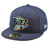 Authentic Collection Home 59fifty - HeadwearFitted - Salt Lake Buzz -  - Primary - Navy - New Era