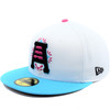 Ortiz Invert Vice 59fifty Hat - HeadwearFittedMens - Salt Lake Bees -  - Copa - White - New Era
