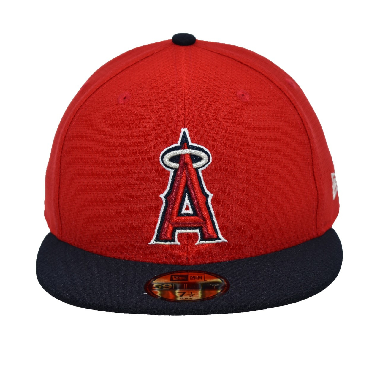 4e3a8be5 Big Dusty 59fifty Hat - HeadwearFittedMens - Los Angeles Angels - - Primary  - Red -