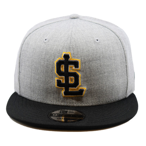 Heather 2T Secondary Core 9fifty Hat - HeadwearAdjustableSnapback - Salt Lake Bees -  - Primary - Gray - New Era