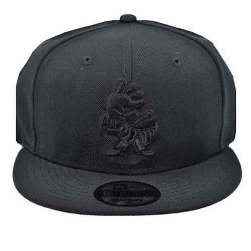 Black on Black Partial 1 Core 9fifty Hat -  - Black - Primary - New Era